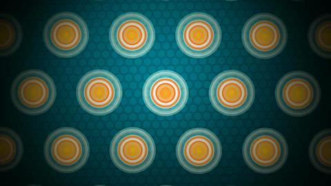 circle pattern tiles Animation