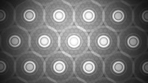 grayscale circle tiles Animation