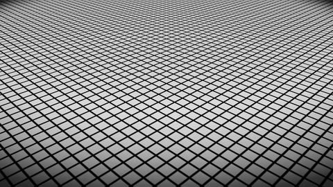 white rhombus floor Animation