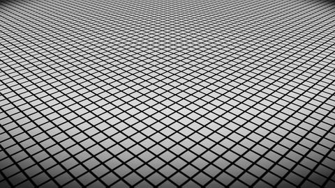 white rhombus floor Animation