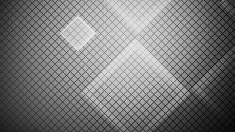 glowing white rhombus Animation