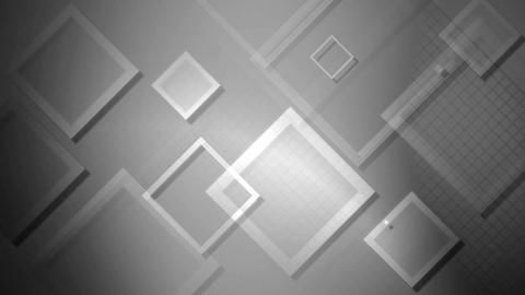 white flying rhombus Animation