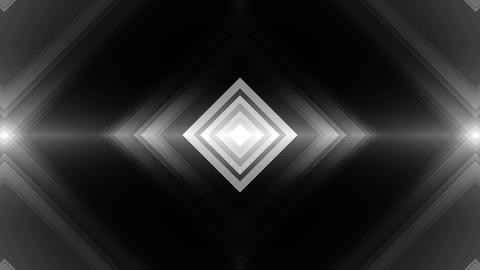 square white tunnel Animation