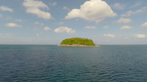 Paradise Island. Aerial View stock footage