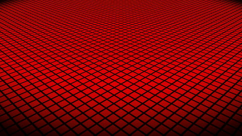 red rhombus floor Animation