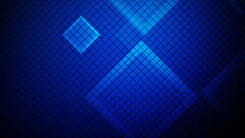 glowing blue rhombus Animation