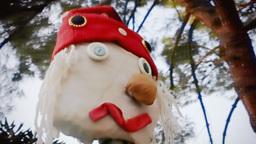 Scarecrow handheld editorial Footage