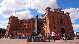 Las Ventas Bullring in Madrid, Spain Footage