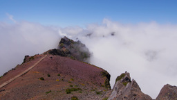 4K Timelapse on Pico do Areeiro, Madeira, Portugal Footage
