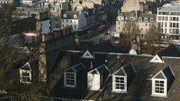 4K Princes Street in Edinburgh, Scotland Live Action