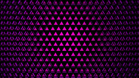 purple triangular lights Animation