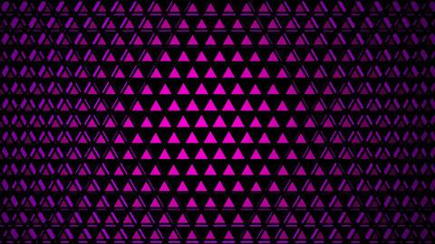 purple triangular lights Animation