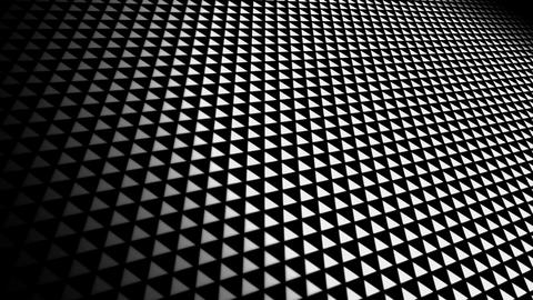 white geometric space Animation
