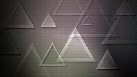 greyscale traingle overlayer Animation
