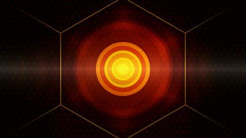 center circle dots Animation