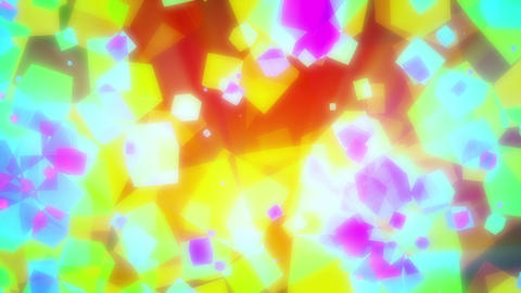 Glowing Cubes Background Loop 2 Animation
