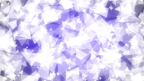 Light Blue Triangles Background Loop 2 Animation