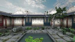 中国の建物 Animation