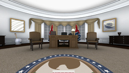 ホワイトハウス Animation