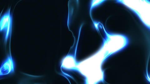 Blue Liquid Energy Background Loop 2 Close Animation