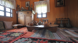 Traditional bosnian old house Footage
