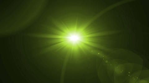 lens flare rotate color Animation