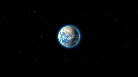 Travel To Earth Animation
