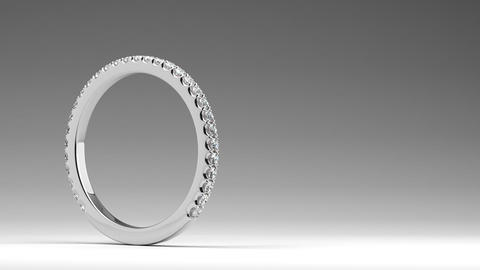 Diamond Wedding Ring Animation