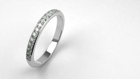 Diamond Wedding Ring Animation