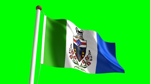 Yukon flag Animation