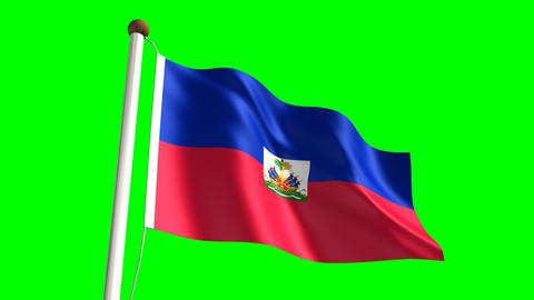 Haitian flag Animation