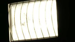 Tungsten Wolfram Halogen Light Closeup 2 dim up do Footage