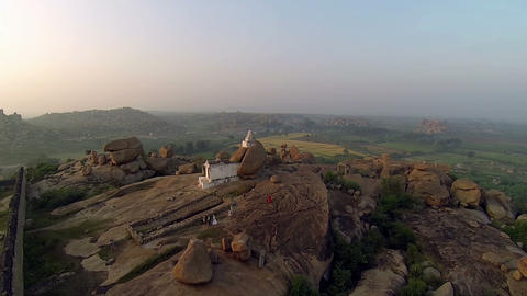 Hanuman Of Hampi stock footage
