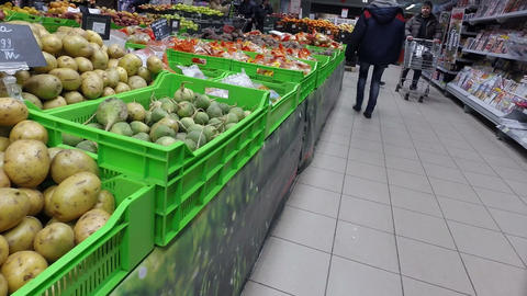 Vegetables At The Supermarket. 1