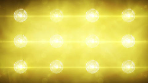 Flashing Concert Stadium Disco Stage Lights 2 Vers stock footage