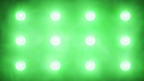 Flashing Concert Stadium Disco Stage Lights 5 Vers stock footage