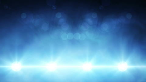 Flashing Concert Stadium Disco Stage Lights Loop 1 stock footage