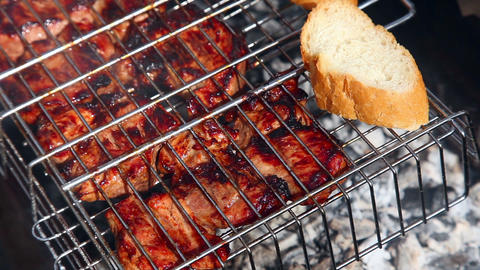 Barbeque stock footage