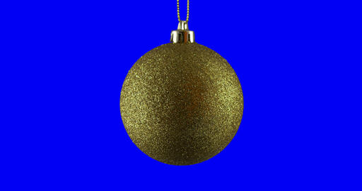 Christmas Ball Isolated Loop 01 stock footage