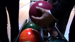 bowling 1 Stock Video Footage