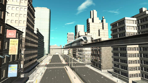 Monorail Animation