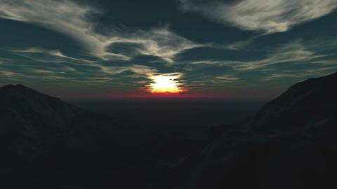Morning sun Stock Video Footage