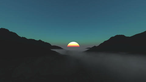 Morning sun Animation
