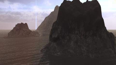 3d Landscape Flight Stock Video Footage
