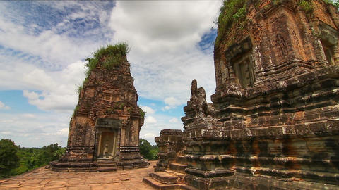 Pre Rup temple time lapse loop Footage