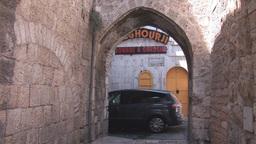 jerusalem street 1 Stock Video Footage