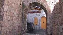 jerusalem street 1 Footage