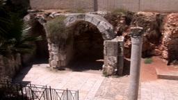jerusalem street 3 Stock Video Footage