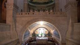 church transfiguration 1 Stock Video Footage
