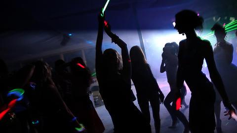 Night Club Stock Video Footage